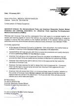 Авторизационное письмо American Club