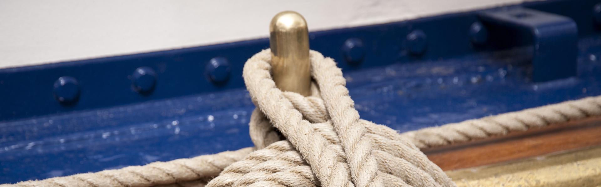 Корабно въже (снимка)